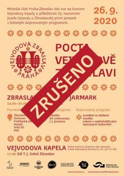 Zbraslavský pivní jarmark - zrušeno