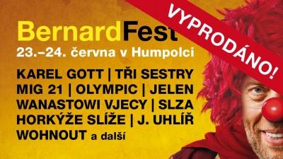 Bernard Fest 2017 - vyprodáno!