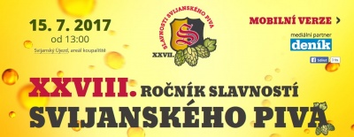 28. Slavnosti svijanského piva 2017