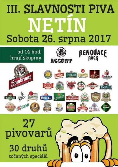 Slavnosti piva Netín 2017