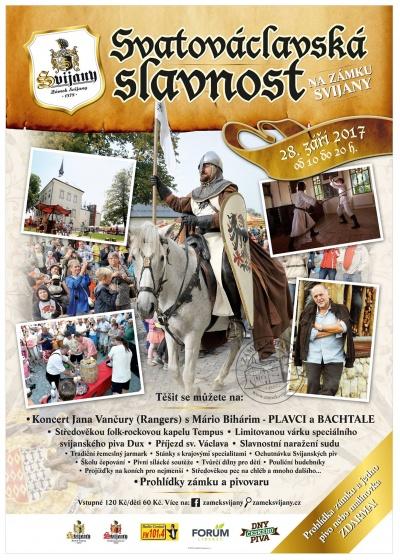 2. Svatováclavská slavnost na Zámku Svijany 2017