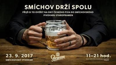 Dny českého piva v Pivovaru Staropramen 2017
