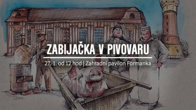 Zabijačka v pivovaru Plzeňský Prazdroj