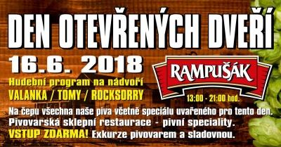 Den otevřených dveří 2018 - pivovar Dobruška