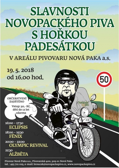 Slavnosti Novopackého piva 2018