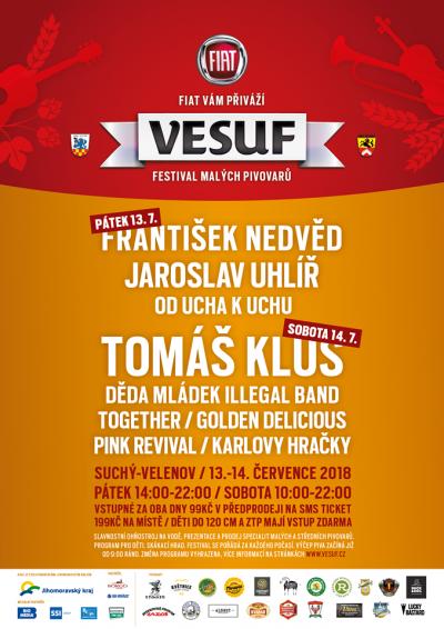 Festival malých pivovarů - VESUF Fiat Fest 2018