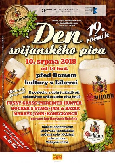 19. ročník Dne svijanského piva v Liberci