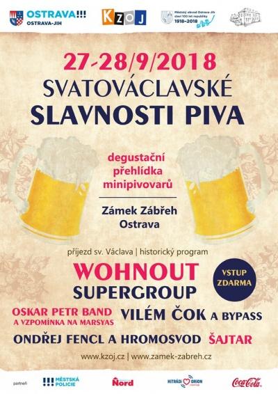 Svatováclavské slavnosti piva 2018