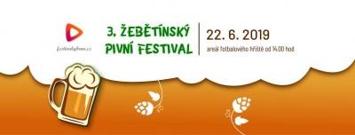 3. žebětínský pivní festival 2019
