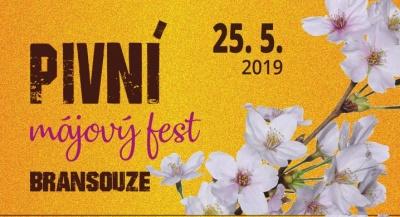Pivní májový fest v Bransouzích 2019