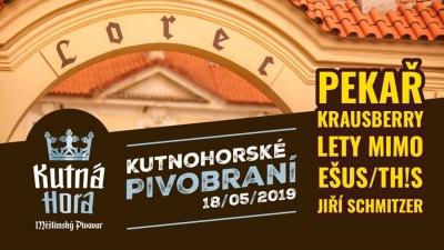 Kutnohorské pivobraní 2019