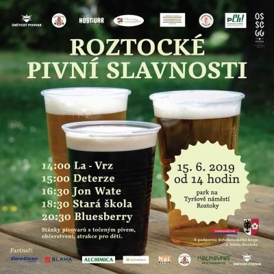 Roztocké pivní slavnosti 2019