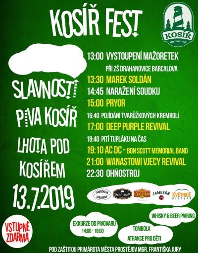 Kosíř Fest 2019