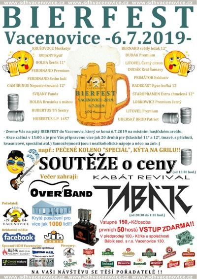 Bierfest Vacenovice 2019