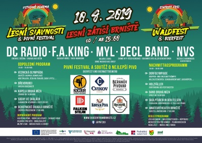 Lesní slavnosti & Pivní festival v Brništi 2019