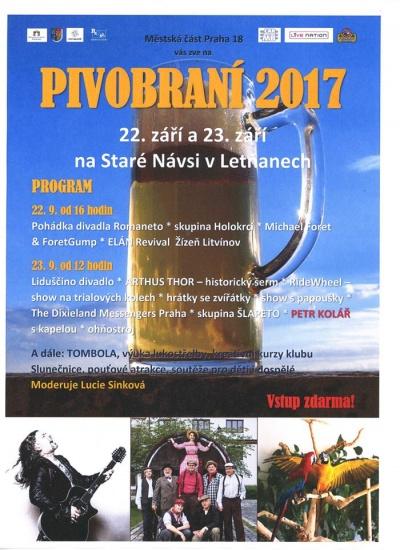 Pivobraní Letňany 2017
