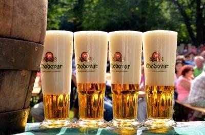 Slavnostní zahájení pivní sezóny 2019 v areálu pivovaru Chodovar