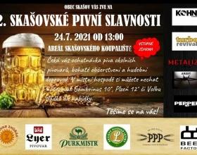 2. Skašovské pivní slavnosti 2021
