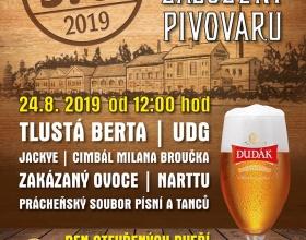 370. výročí založení strakonického pivovaru Dudák