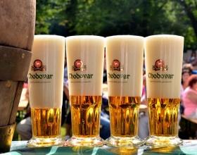 Slavnostní zahájení pivní sezóny 2020 v areálu pivovaru Chodovar